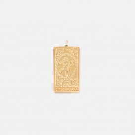 The World Card Charm