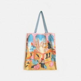 Gemme Reversible Tote Bag - Topaz